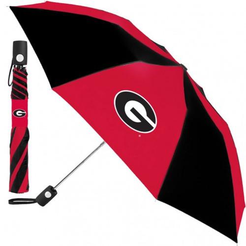 Georgia Bulldogs Umbrella Auto Folding - Special Order