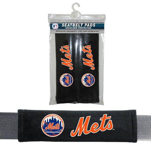 New York Mets Seat Belt Pads CO