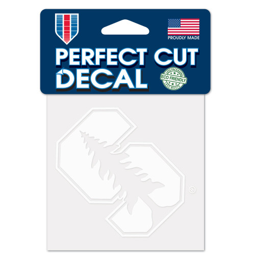 Stanford Cardinal Decal 4x4 Perfect Cut White - Special Order
