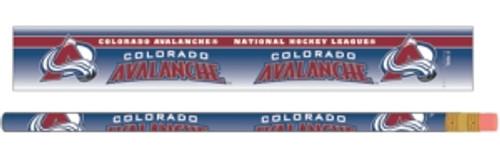 Colorado Avalanche Pencil 6 Pack - Special Order