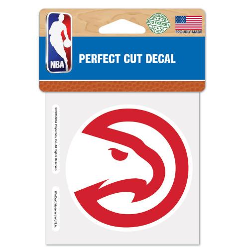 Atlanta Hawks Decal 4x4 Perfect Cut Color