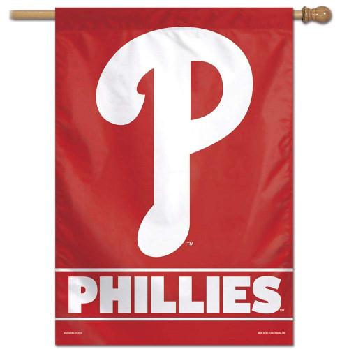 Philadelphia Phillies Banner 28x40 Vertical - Special Order