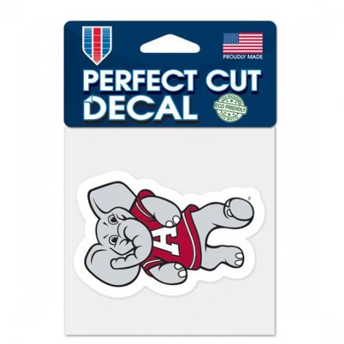 Alabama Crimson Tide Decal 4x4 Perfect Cut Color Mascot Design