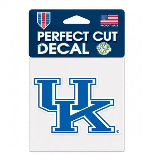 Kentucky Wildcats Decal 4x4 Perfect Cut Color