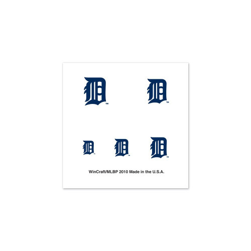 Detroit Tigers Tattoos Fingernail
