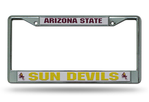 Arizona Wildcats License Plate Frame Chrome - Special Order