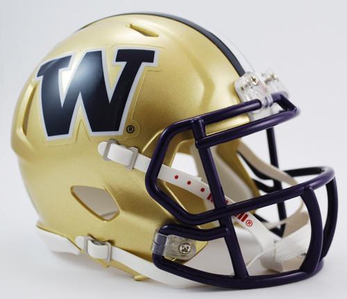 Washington Huskies Helmet Riddell Replica Mini Speed Style - Special Order