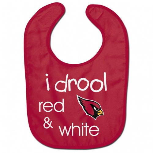 Arizona Cardinals Baby Bib All Pro Style I Drool Design - Special Order