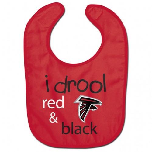 Atlanta Falcons Baby Bib All Pro Style I Drool Design