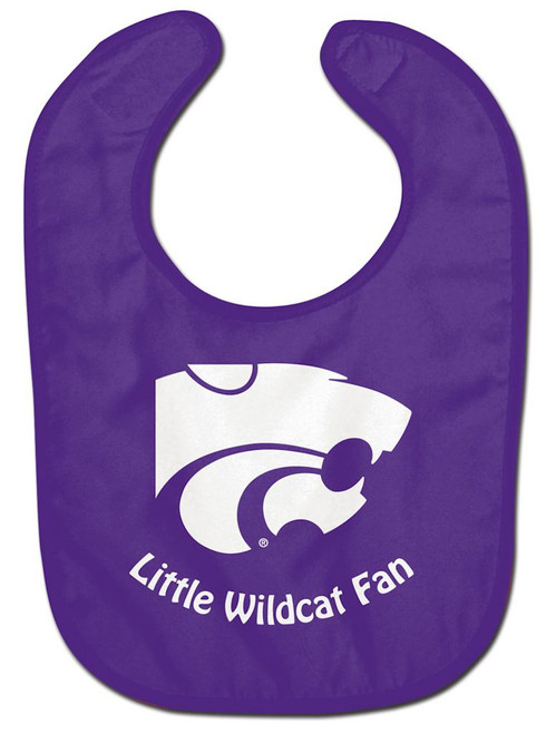 Kansas State Wildcats Baby Bib All Pro Style Special Order