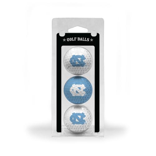 North Carolina Tar Heels Golf Balls 3 Pack - Special Order