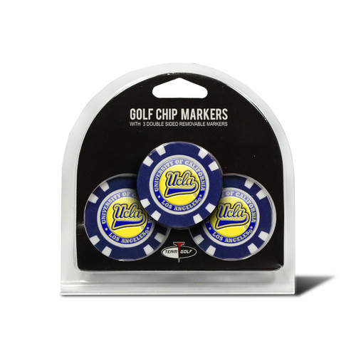 UCLA Bruins Golf Chip with Marker 3 Pack - Special Order