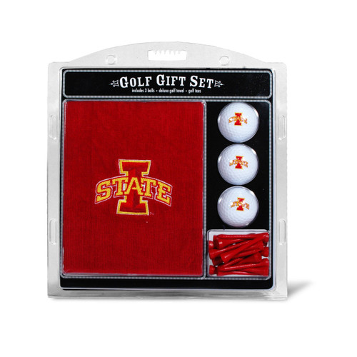 Iowa State Cyclones Golf Gift Set with Embroidered Towel - Special Order
