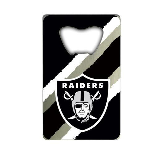 Las Vegas Raiders Bottle Opener Credit Card Style - Special Order