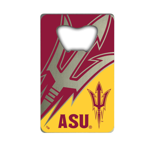Arizona State Sun Devils Bottle Opener Credit Card Style - Special Order