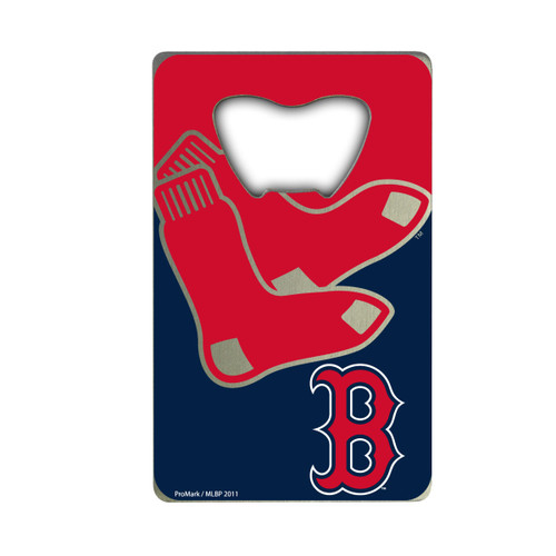 Boston Red Sox Bottle Opener Credit Card Style - Special Order