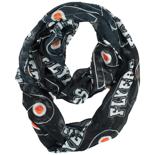 Philadelphia Flyers Scarf Infinity Style - Special Order
