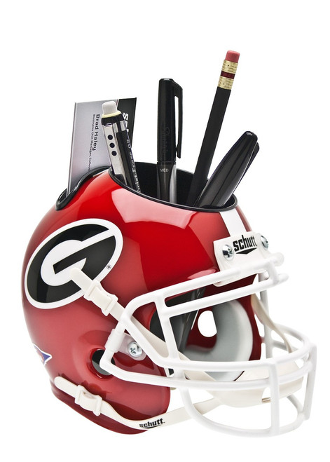 Georgia Bulldogs Desk Caddy Helmet - Special Order