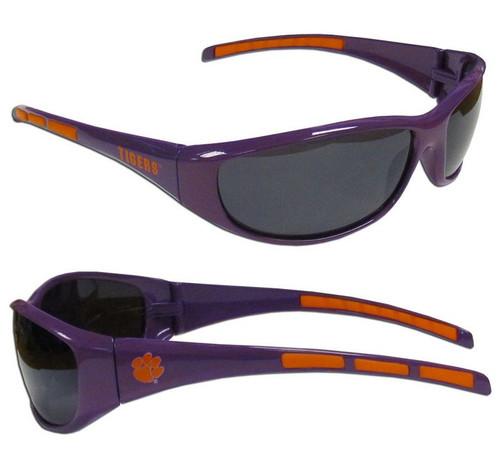 Clemson Tigers Sunglasses Wrap Style - Special Order