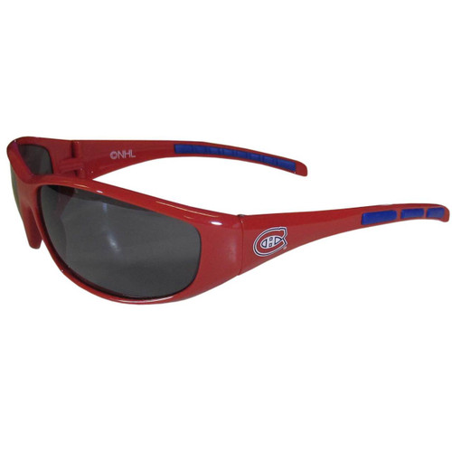 Montreal Canadiens Sunglasses Wrap Style - Special Order