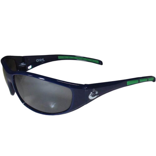 Vancouver Canucks Sunglasses Wrap Style - Special Order