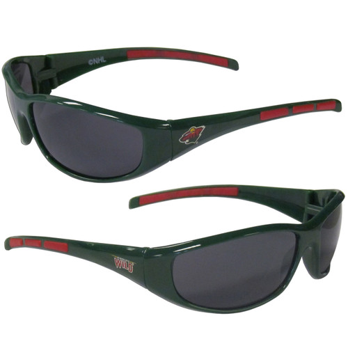 Minnesota Wild Sunglasses Wrap Style - Special Order