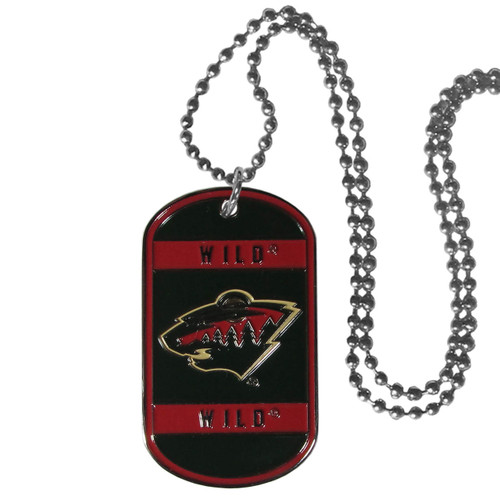 Minnesota Wild Necklace Tag Style - Special Order