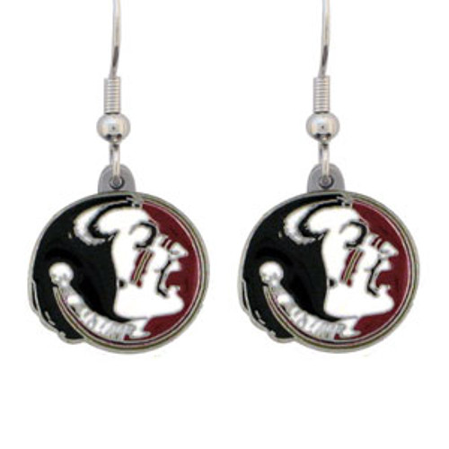 Florida State Seminoles Earrings Dangle Style - Special Order