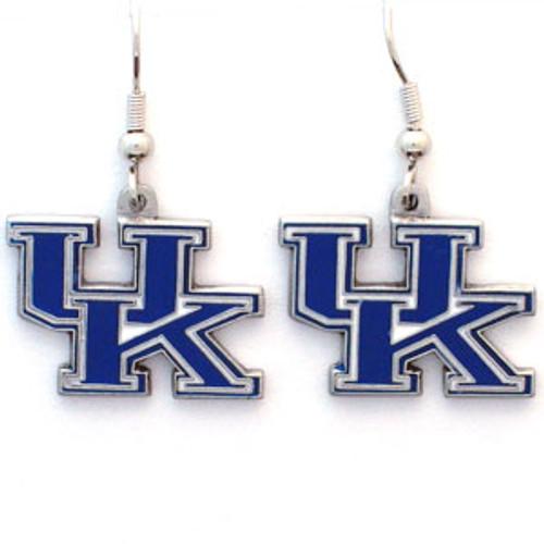 Kentucky Wildcats Earrings Dangle Style
