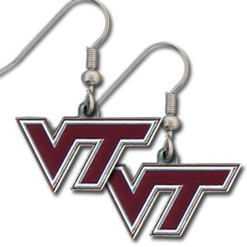 Virginia Tech Hokies Earrings Dangle Style - Special Order