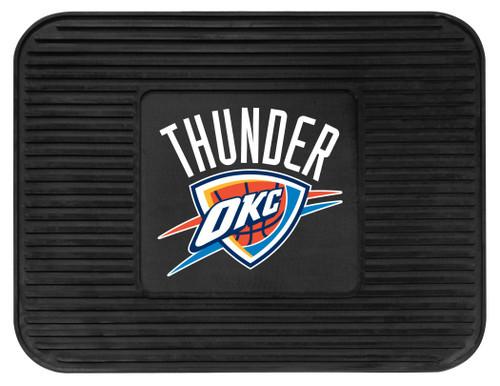 Oklahoma City Thunder Car Mat Heavy Duty Vinyl Rear Seat