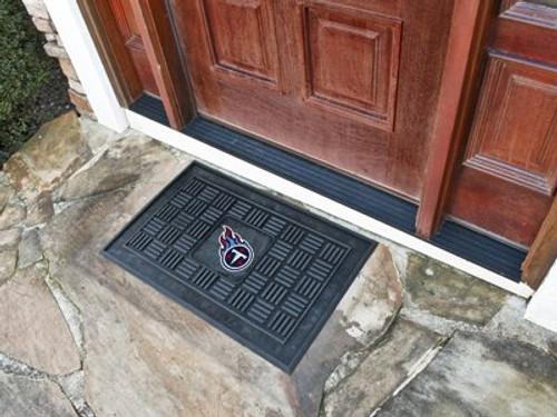 Tennessee Titans Door Mat 19x30 Medallion - Special Order