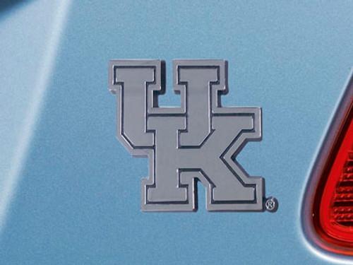 Kentucky Wildcats Auto Emblem Premium Metal Chrome - Special Order