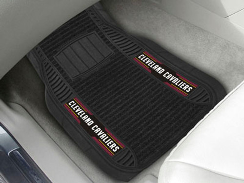 Cleveland Cavaliers Car Mats Deluxe Set - Special Order