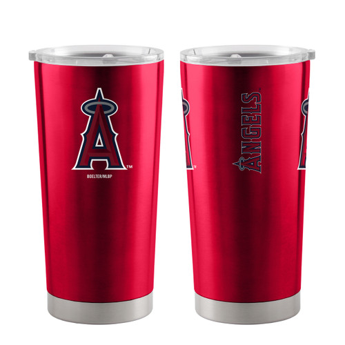 Los Angeles Angels Travel Tumbler 20oz Ultra Red - Special Order