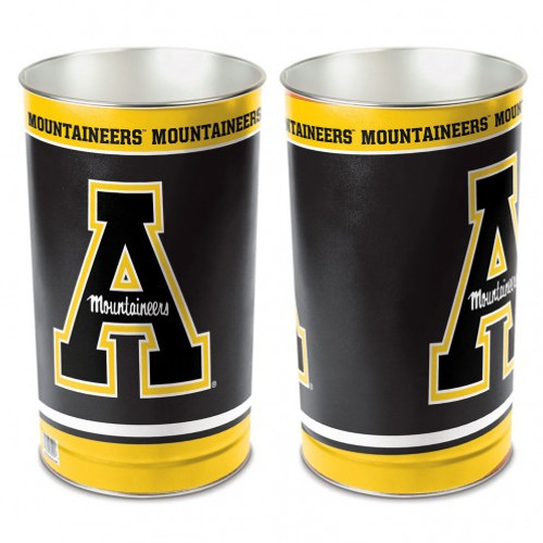 Appalachian State Mountaineers Wastebasket 15 Inch - Special Order