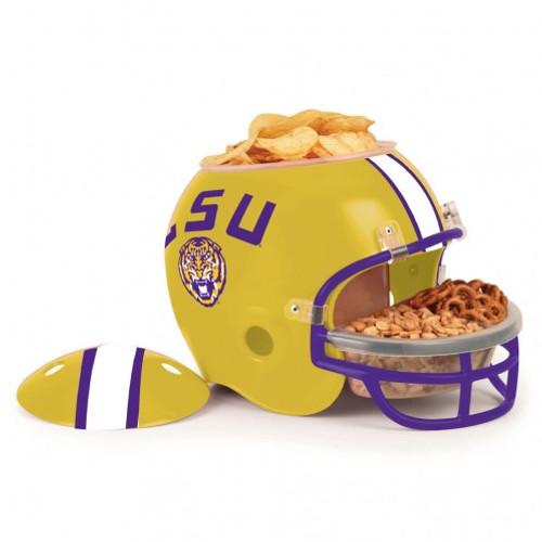 LSU Tigers Snack Helmet - Special Order