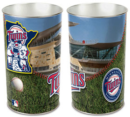 Minnesota Twins Wastebasket 15 Inch - Special Order