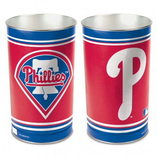 Philadelphia Phillies Wastebasket 15 Inch