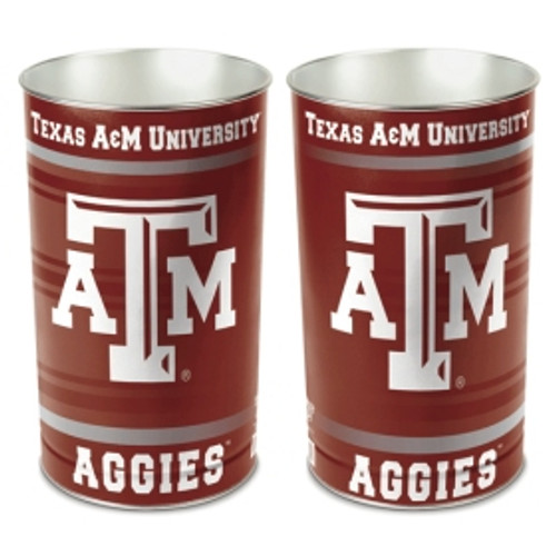 Texas A&M Aggies Wastebasket 15 Inch