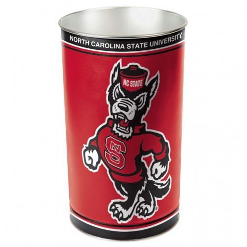 North Carolina State Wolfpack Wastebasket 15 Inch - Special Order