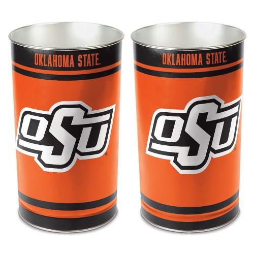Oklahoma State Cowboys Wastebasket 15 Inch