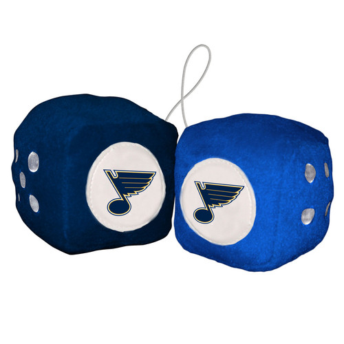 St. Louis Blues Fuzzy Dice - Special Order
