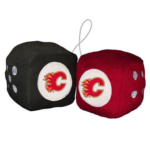 Calgary Flames Fuzzy Dice CO