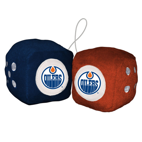 Edmonton Oilers Fuzzy Dice CO