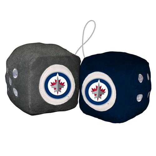 Winnipeg Jets Fuzzy Dice CO