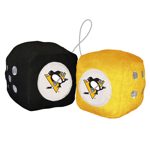 Pittsburgh Penguins Fuzzy Dice - Special Order
