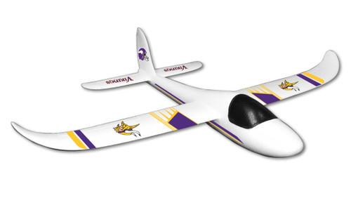 Minnesota Vikings Glider Airplane - Special Order