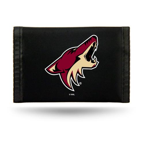 Arizona Coyotes Wallet Nylon Trifold - Special Order