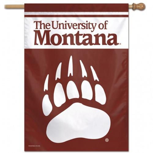 Montana Grizzlies Banner 28x40 Vertical - Special Order